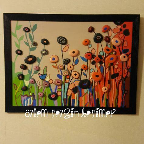 paintingrocks 43x58 cm. #taştablo #tasarim...