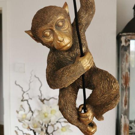 Voss Deckenleuchte Monkey Gold Deckchen Affen Und Deko Online