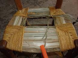 Les Jours Trop Courts Rempaillage Chaise Chaise Chaise Tissu