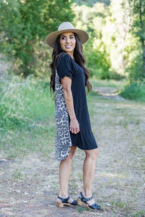 Making Heads Turn Contrast Dress - XLarge