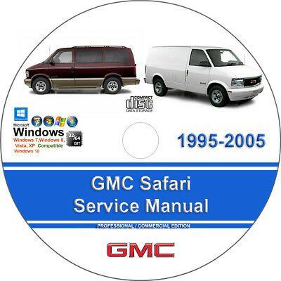 Gmc Safari 1995 2005 Factory Workshop Service Repair Manual Ebay In 2020 Gmc Safari Chrysler Town And Country Gmc