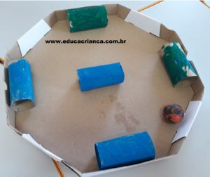Labirinto De Rolinho Jogo Motor Com Imagens Brincadeiras Para