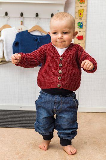 10 01. rätstickade basplagg till baby | Babykläder