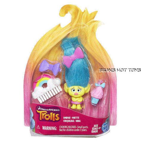 10 Pack Troll Dolls Doll Kit Miniature Favor KIds Hobbyists Collectable Toys