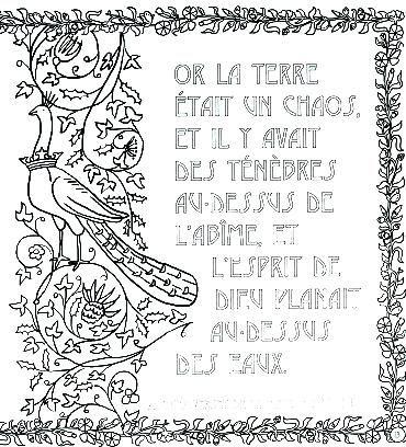 Enluminure A Colorier Pages Alphabet Enluminure Moyen Age A