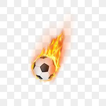 Llama De Fuego De Balon De Futbol Pelota Deportes Futbol Americano Png Y Vector Para Descargar Gratis Pngtree Soccer Ball Soccer Football Silhouette