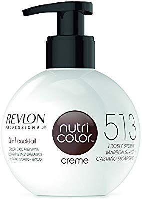 Amazon Com Revlon Nutri Color Creme For Unisex No 513 Deep Chestnut 8 4 Ounce Beauty Revlon Revlon Professional Creme