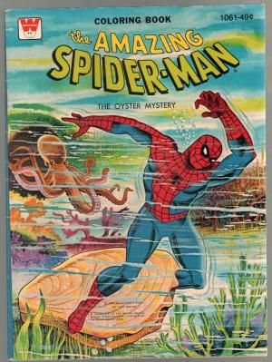 Amazing Spider Man Coloring Book 1061 1976 The Oyster Mystery In 2020 Coloring Books Vintage Coloring Books Superhero Coloring