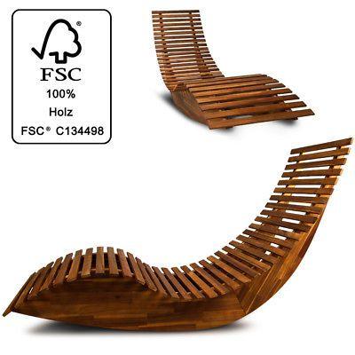 Astonishing Details About Sun Lounger Wooden Ergonomic Garden Sauna Deck Machost Co Dining Chair Design Ideas Machostcouk