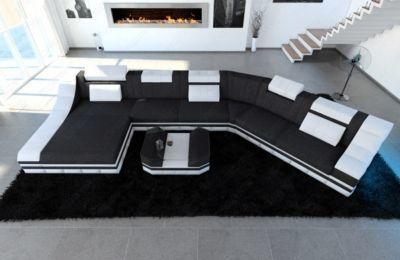 Beautiful Sofa Dreams Polster Wohnlandschaft TURINO CL mit LED Jetzt bestellen unter