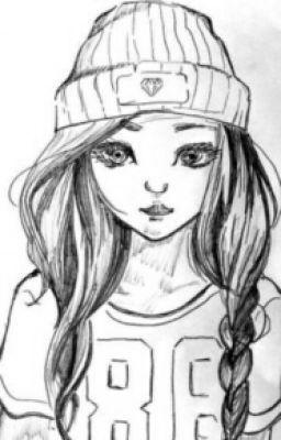 Girl Pozastaveno Dibujos Hermosos Dibujos Dibujos Bonitos