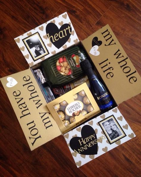 Anniversary Care Package                                                                                                                                                      More #anniversarygifts