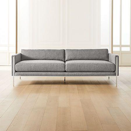Ryker Sofa Reviews Cb2 In 2020 Modern Furniture Living Room