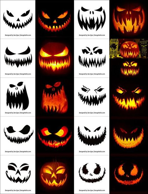 290 Free Printable Halloween Pumpkin Carving Stencils Patterns Designs Faces & Ideas The post 290 Free Printable Halloween Pumpkin Carving Stencils Patterns Designs Faces & Ideas appeared first on Halloween Pumpkins. Scary Halloween Pumpkins, Halloween Pumpkin Carving Stencils, Halloween Tags, Easy Halloween, Scary Pumpkin Faces, Free Pumpkin Stencils, Halloween Makeup, Pumpkin Carving Party, Spooky Pumpkin