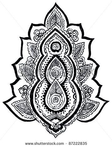 Henna Templates Printable Henna Paisley Designs Henna Tattoo Colouring Pages For Kids Henna Tattoo Tattoo Lettering Henna Designs