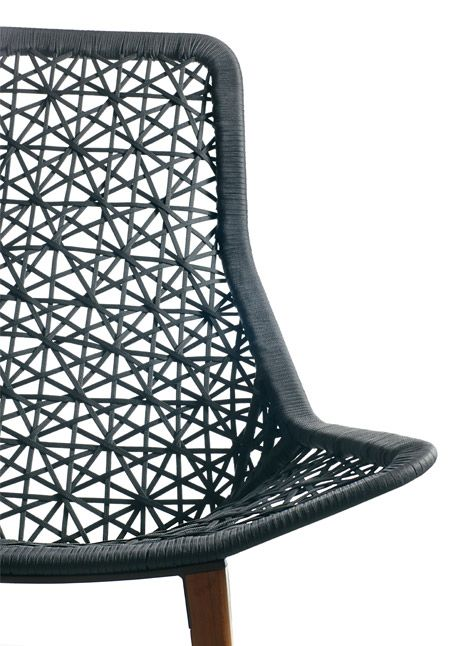 Maia Rope Chair :: Patricia Urquiola For Kettal