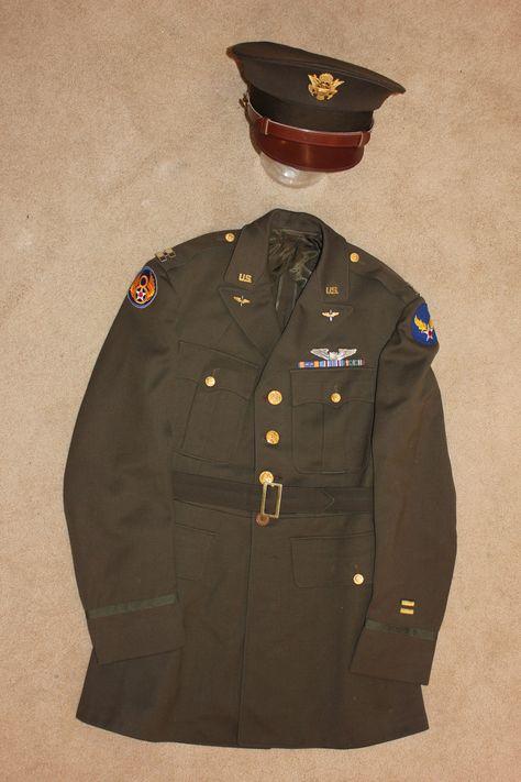 USAAF 8th AF Captain, Pilot.