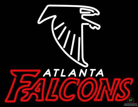 Atlanta Falcons Neon Sign Nfl Teams Neon Light Atlanta Falcons Falcons Atlanta Falcons Wallpaper