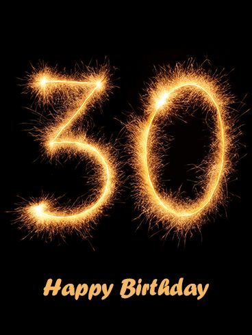 13 best 30th birthday cards images on pinterest 30th birthday a persons 30th birthday is a significant milestone in their life and deserves a big celebration as your friend or family member celebrates m4hsunfo Images