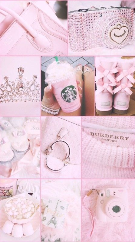 17 Ideas Light Pink Aesthetic Wallpaper Collage