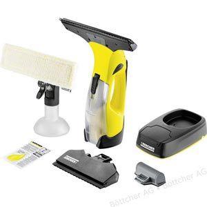 Karcher Wv 5 Premium Non Stop Cleaning Kit Fenstersauger Einwascher Ladestation Akku Saugduse 17 Cm 28 Cm In 2020 Fenstersauger Karcher Fenstersauger Spruhflasche