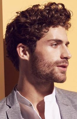 Medium Length Long Curly Hairstyles Men 94