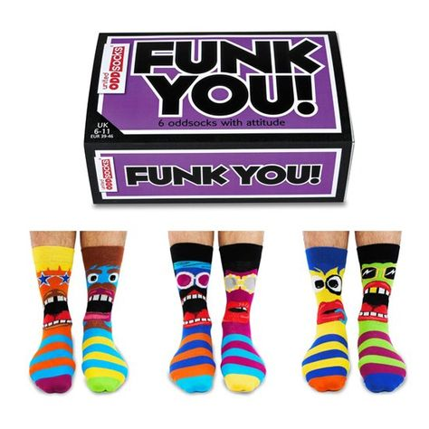 UNITED ODDSOCKS TATTOES SIX TATTOO INSPIRED ODD SOCKS FOR MENS UK 6-11GIFT IDEA