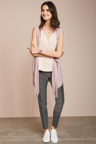 Buy Blush Sparkle Waterfall Cardigan from the Next UK online shop ...