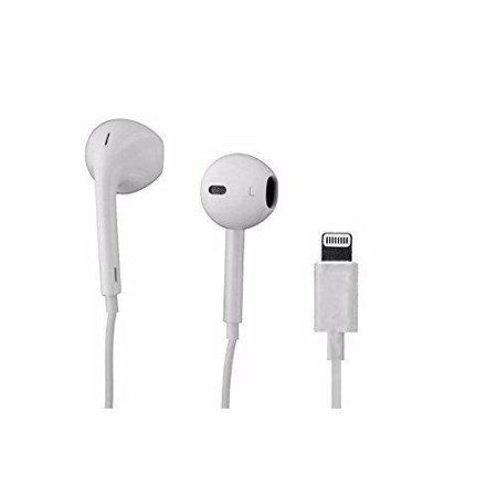 Apple Iphone 7 Iphone 7 Plus Earpod Earbud Earphones Headphones With Lightning Connector White Walmart Com Iphone Earphones Iphone 7 Plus Earbuds