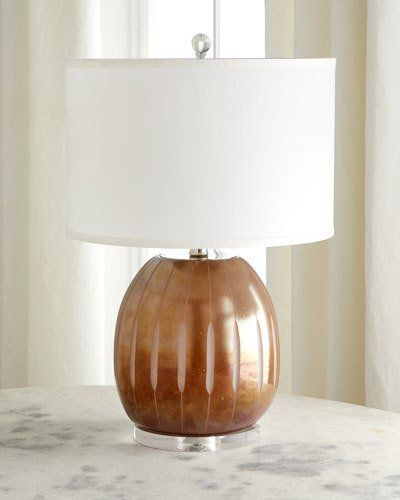 Jamie Young Rose Glass Table Lamp Glass Table Table Lamp Glass Table Lamp