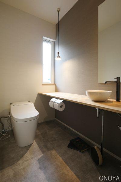 照明を変えるだけ ペンダントライトでグッとおしゃれなトイレに変身