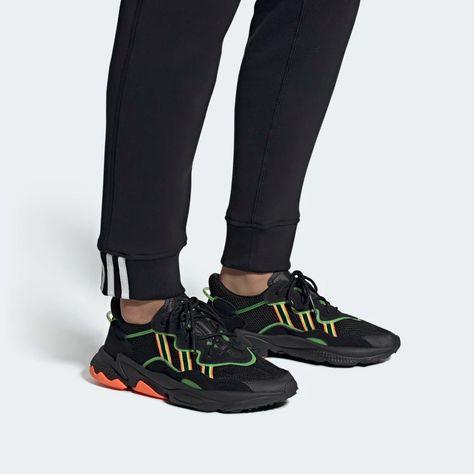 OZWEEGO Shoes Black Mens | Shoes, Black shoes, Black adidas