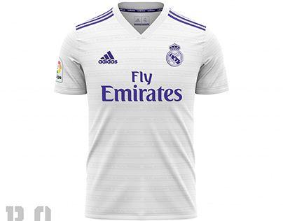 Check Out New Work On My Behance Portfolio Concept Home Jersey Real Madrid 2020 2021 Http Be Camisetas Deportivas Uniformes De Futbol Camisetas De Futbol