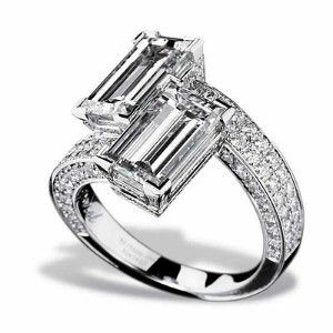 Chopard Ring - Haute Joaillerie Diamond Bypass Ring | Shop fashion, accessories,luxury| Kaboodle
