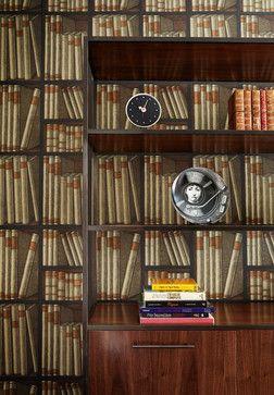 28 idees de papier peint bibliotheque