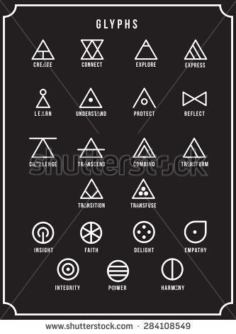 Glyphs - #Glyphs #symbol. Tattoo Placement Chart | Best Places To Get A Tattoo Female | Female Tattoo Placement Chart #floridatattooartist #selberbauen. Click on the image for additional details.