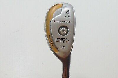 Adams Idea Pro Gold 23 Degree 4 Ironshybrid Stiff Flex Golf Clubs Flex Stiff