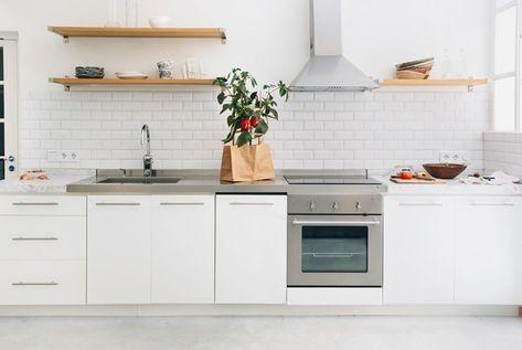 Credence Cuisine Blanche Inspirational Carrelage Metro Blanc Dans
