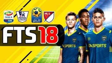 Download First Touch Soccer 2018 Apk And Data Obb For Android Soccer Game Data Fifa Games