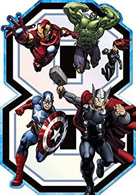 Epingle Sur Party Avengers