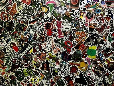 200 Skateboard Stickers Vinyl Laptop Luggage Decal Dope Sticker Lot Longboard
