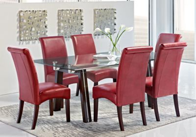 Driscoll Espresso 5 Pc Dining Room Dining Room Sets Rooms Home