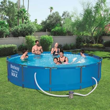 Bestway Zwembadset Steel Pro Max 366x76 Cm 56416 Pool Bestway Above Ground Swimming Pools