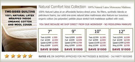 cozypure natural latex mattresses natural latex beds latex mattress frames organic mattresses organic bedding organic cotton and wool pinterest