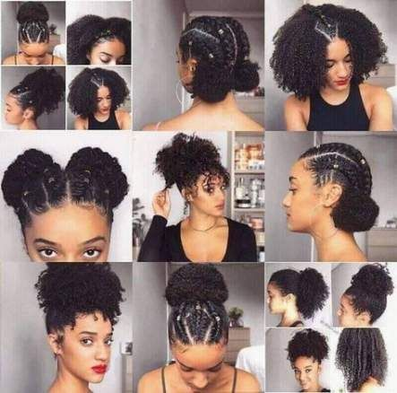 46 Ideas For Hair Styles Black Natural Protective Styles Natural Hair Styles Natural Hair Journey Tips Natural Hair Styles Easy