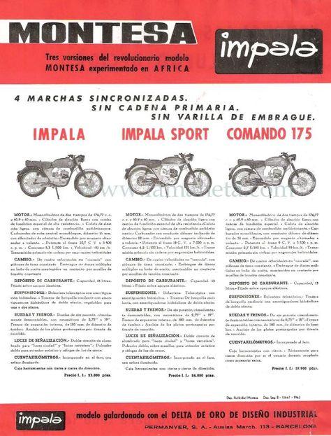 64 Ideas De Montesa Impala Montesa Impala Motos Clasicas