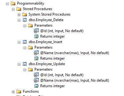 Entity Framework Core Stored Procedure Using Fluent Api Entity Framework Web Development Tutorial Framework