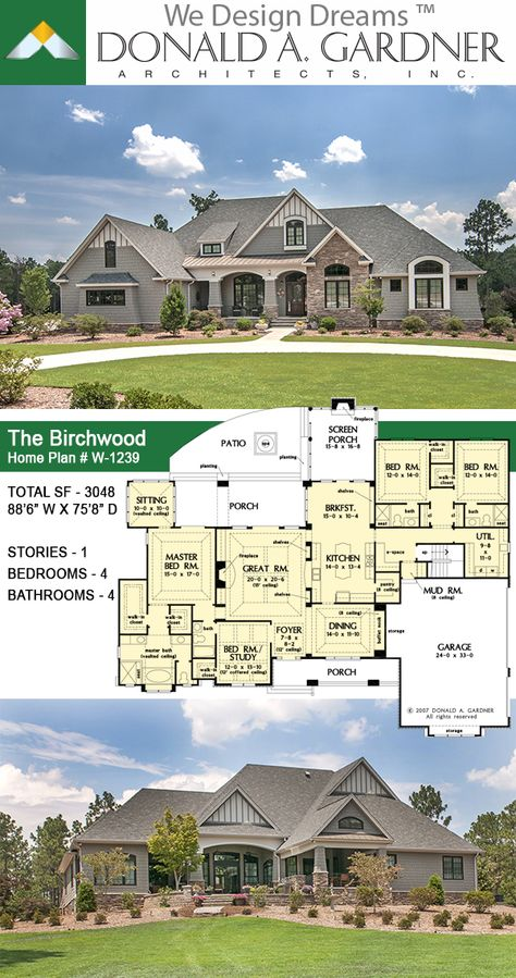The Birchwood Home Plan 1239