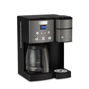 Cuisinart Cuisinart Coffee Center 12 Cup Coffeemaker And Single Serve Brewer Wayfair Stainless Steel Coffee Maker Cuisinart Coffee Maker Single Serve Coffee Makers
