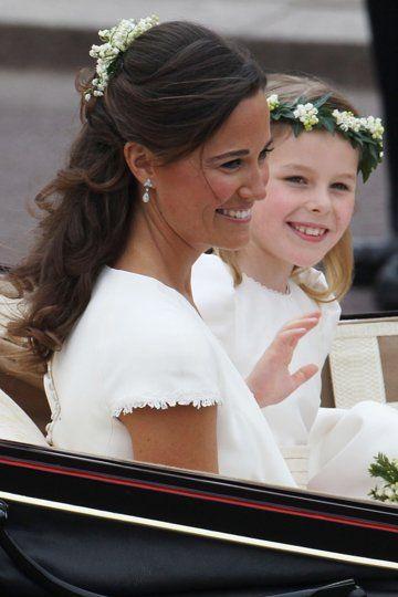 Kates Schwester Pippa Middleton Kate Middleton Hochzeit Pippa Middleton Hochzeitskutsche